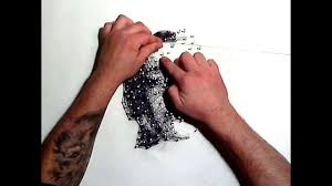 art with nails and thread portrait by alexmik00 kunst mit