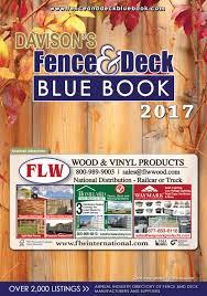 2017 fence u0026 deck blue book by davison publishing issuu