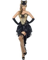 halloween costume accessories cl413 ladies burlesque kitty cat costume animal halloween corset