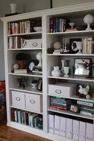 simple steps to install ikea bookshelves with glass doors