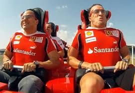 roller coaster abu dhabi speed of s f1 drivers the s fastest roller