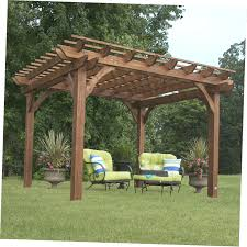 Backyard Arbors Cedar Arbor Kits Tags Amazing Backyard Pergola Kits Wonderful
