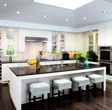 Kitchen Island With Seating For 6 Kitchens With Islands White Farmhouse Kitchen Islands With