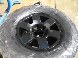 painting your fj wheels inst w pics toyota fj cruiser forum