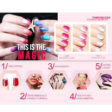 amazon com mix gel nail polish colors changing nail polish