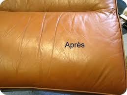reparation canapé cuir reparation canape cuir racparation du trou par une soudure sur