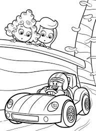 bubble guppies coloring pages cartoon cartoon coloring pages