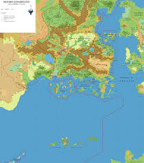World Map No Labels by The Piazza U2022 View Topic Outer World Known World 24 Miles Per Hex