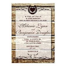 cheap rustic wedding invitations buy barbed wire horseshoe rustic wedding invitation personalized