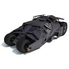 batmobile tumbler 3d model arte muy bueno pinterest