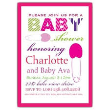 baby shower invite wording sle baby shower invitation ba shower invitation exles