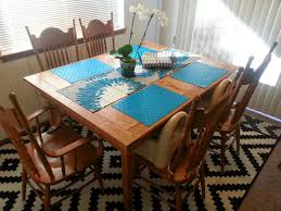homemade red oak board gaming table boardgamegeek boardgamegeek