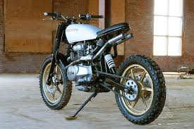 turning the honda cm400 into an urban assault machine honda
