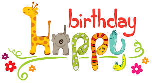birthday kids clipart