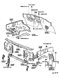 toyota tacoma parts list 1983 parts support bracket diagram needed yotatech forums