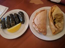 Dawali Mediterranean Kitchen Chicago - grape leaves and lamb bread pie yelp