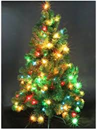 goplus 4ft pre lit artificial tree auto spread