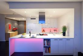 kitchen island led lighting stunning led lights in the kitchen design under cabinet also