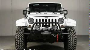 starwood motors jeep white custom 2013 jeep wrangler unlimited by starwood custom for sale
