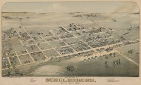 Bird View Map File Old Map Schulenburg 1881 Jpg Wikimedia Commons