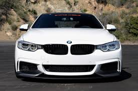 matte white bmw f32 white full performance parts in matte carbon finish