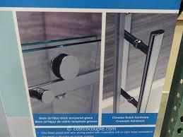 Install Shower Door by Ove Decors 60 Inch Premium Rolling Tub Door