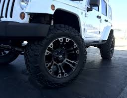 jeep wheels and tires jeep with nitto trail grappler mt tires and fuel beast wheels
