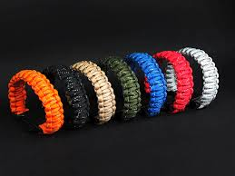 paracord rope bracelet images Outdoor gear hiking camping wristband reflective survival jpg