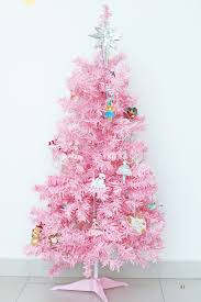 pink christmas tree the of fashion christmas diy pink christmas tree