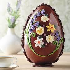 large easter eggs new large milk chocolate flowers egg bettys tea stuff