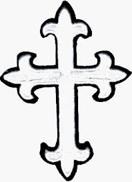nice outline cross tattoo clip art library