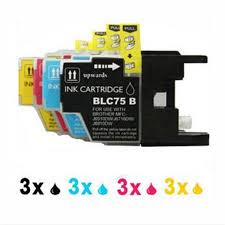 pixma printing solutions apk 3sets inkjet cartridge for printer lc71 lc75 lc73 mfc
