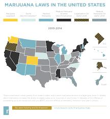 Marijuana Legalization Map Reversing Authoritarian Marijuana Laws By Bill Or By Ballot Hit