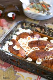 thanksgiving yams with marshmallows recipe hasselback candied yams what should i make for
