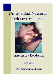 manual de anestesia y exodoncia