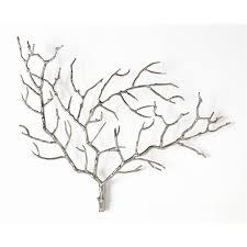 arteriors home metal tree branch wall décor reviews wayfair