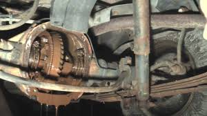 1996 jeep grand rear differential the results of a clogged rear axle vent