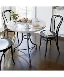 Marble Bistro Table And Chairs French Kitchen Round Bistro Table For The Apartment Pinterest