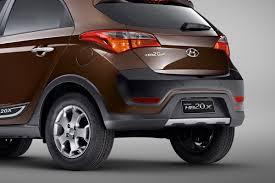 hyundai crossover hyundai reveals new hb20x small crossover at the sao paulo auto show