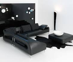 Black Microfiber Sectional Sofa Modern Black Microfiber Sectional Sofa 14 Excellent Modern