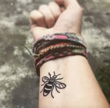 are getting bee tattoos in memory of manchester dazed