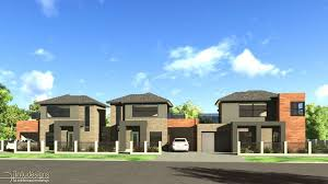 townhouse design rendering of house exterior architectural 3d exterior rendering