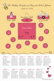 Floor Plan Wedding Reception Banquet Setup For 200 People With Long And Round Tables Wedding