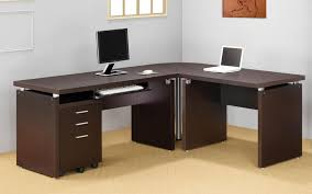 Glass L Shaped Computer Desk by L Shaped Computer Desk Glass L Shaped Computer Desk With