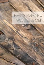 How To Age Wood With Paint And Stain Simply Swider by Painting New Wood To Look Yummy Warm Layered And Rustic