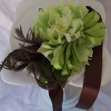 mint green corsage shop feather corsage on wanelo