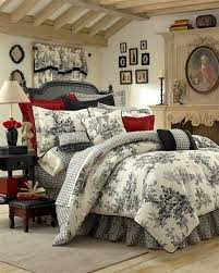 Ideas For Toile Quilt Design Amazing Of Design Ideas For Toile Bedding 17 Best Images