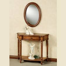 Entrance Tables And Mirrors Manor Console Table And Mirror Set