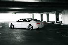 audi a7 parking audi a7 tuning vossen white audi a7 tuning white machine parking