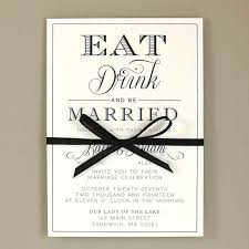eat drink and be married invitations kate suite eat drink be married wedding invitation